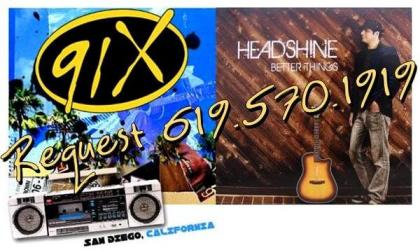 Better Things by Headshine premiers on 91X in San Diego!