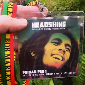 Feb 1 - Bob Marley Birthday Celebration features Headshine live in Hermosa Beach at The Standing Room