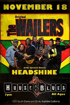 The Original Wailers w/ special guest Headshine @ House of Blues