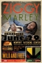 June 29 - Ziggy Marley w/ Headshine @ Newport Yatching Center in Rhode Island
