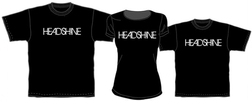 Official Merchandise: Headshine Concert Tshirts. New!
