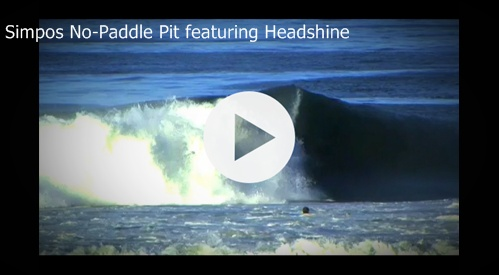 "New music by Headshine featured in surf video with Brett Simpson receives over 125,000 views. Watch ""Simpos No-Paddle Pit"" now on Surfline"